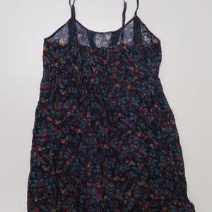 Forever 21 Dresses - New Forever 21 Navy Red Dress Paisley Small Short